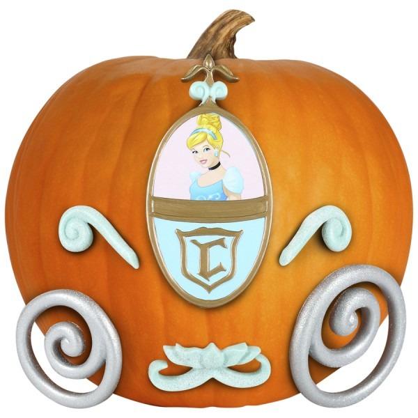 Gemmy Cinderella Pumpkin Push