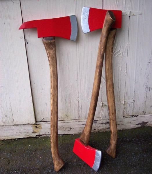 Wooden Axe For Lumberjack