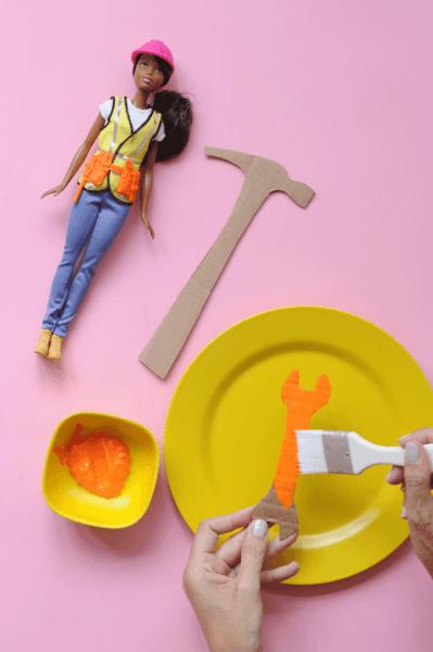 Make A Barbie Construction Worker Costume Diy Tool Belt