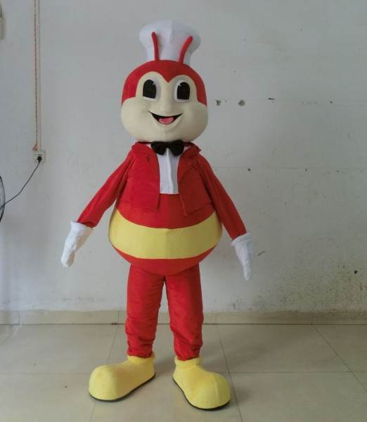 Adult Red Bee Mascot Costume Adult Bee Costume  Affiliate