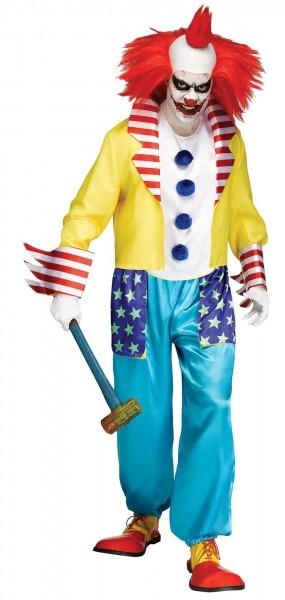 Crazy Clown Costume For Men