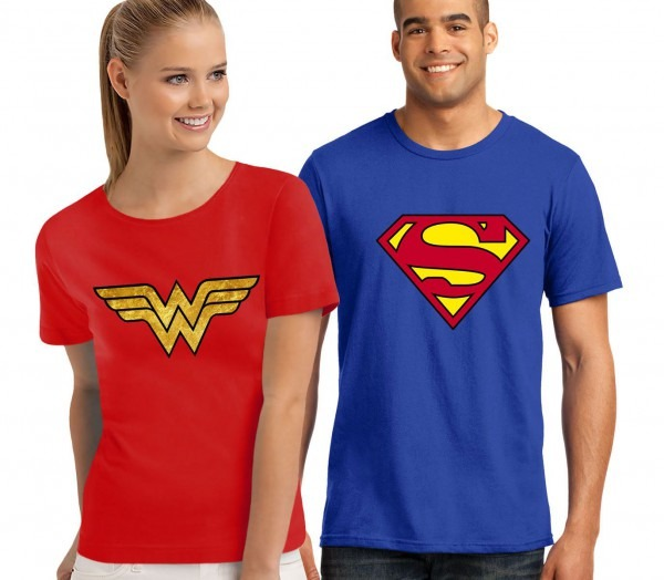 Superheroes Couple T
