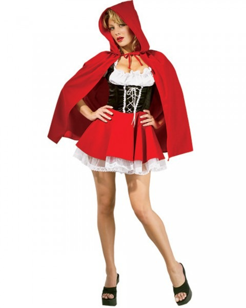 Womens Red Riding Hood Halloween Costume