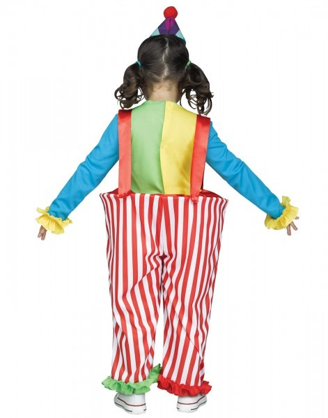 Costume Zoo  Crazy Clown Toddler Costume