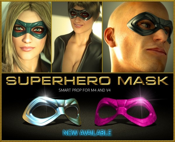Superhero Mask For M4 And V4 » Topgfx