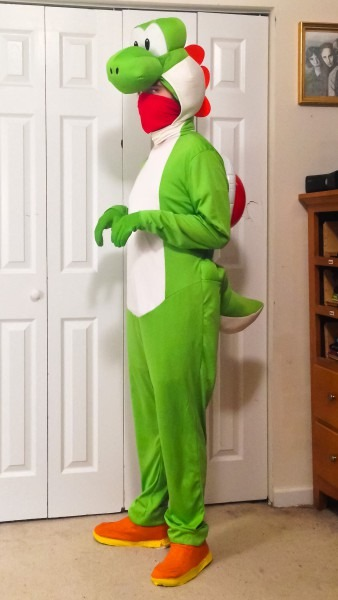 Yoshi The Dinosaur Costume By Scalypurpledragon
