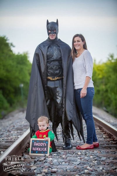 A Dad And His Son Created The Best Batman And Robin Pictures  Very