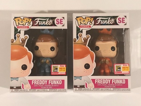 Funko Pop! Freddy Funko Orange And Blue Tuxedo Suit Dumb & Dumber