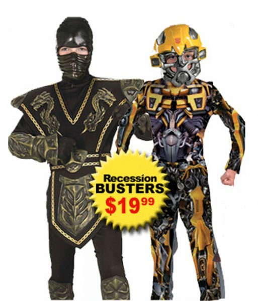 Costumesupercenter Com Offers Recession Busting Halloween Costumes