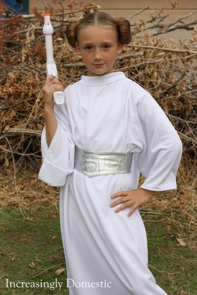 Princess Leia Costume For Girls & Handmade Princess Leia Costume