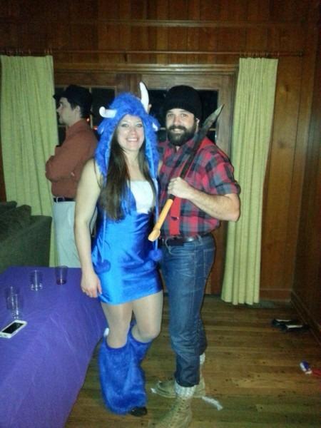 Paul Bunyan Halloween Costume & Paul Bunyan And Babe The Blue Ox