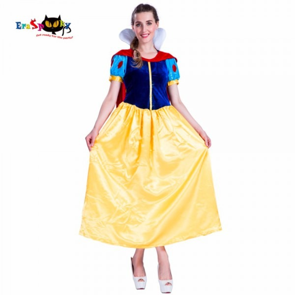 2017 Adult Halloween Costume Carnival Costume Snow White Princess