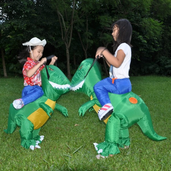 2017 New Inflatable Dinosaur Costumes For Adults Kids T Rex