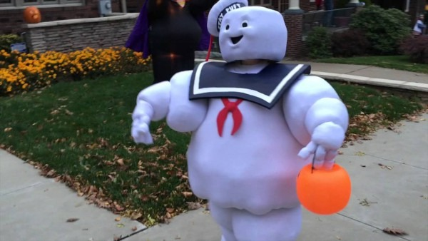 Stay Puft Marshmallow Man Kids Costume