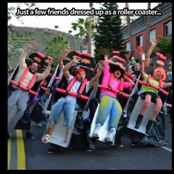 Roller Coaster Halloween Costume