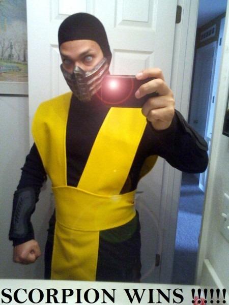 Scorpion Mortal Kombat Costume Diy