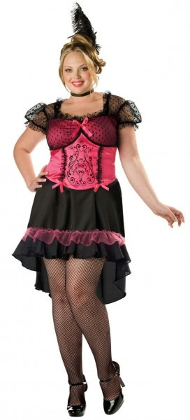Incharacter Womens Saloon Gal Western Bar Maid Plus Size Adult