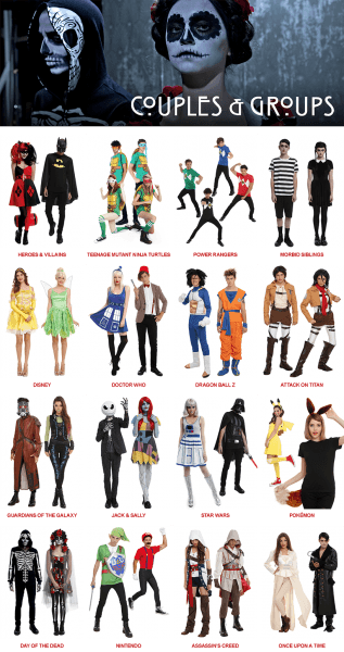 Groups & Couples Costumes