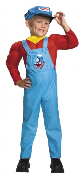 Kids And Toddler Classic Thomas The Tank Engine Costume   Costumes