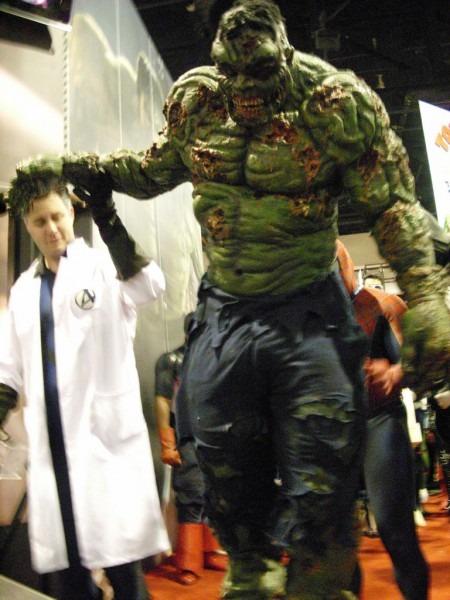 Marvel Costume Contest  Zombie Hulk
