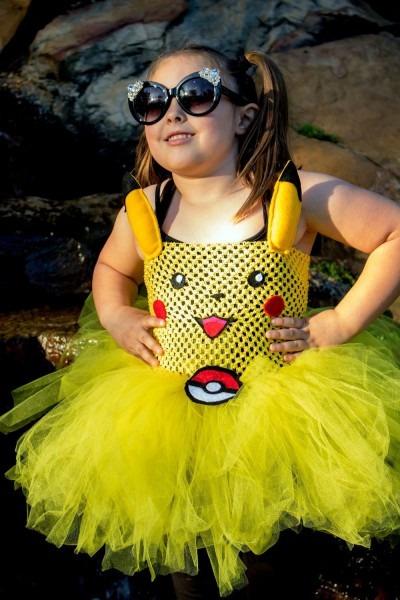Pikachu Pokemon Cosplay Birthday Halloween Costume Baby Toddler