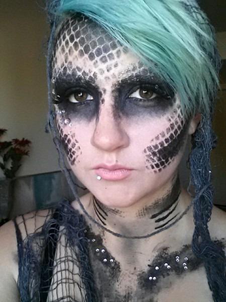 Creepy Mermaid Makeup!