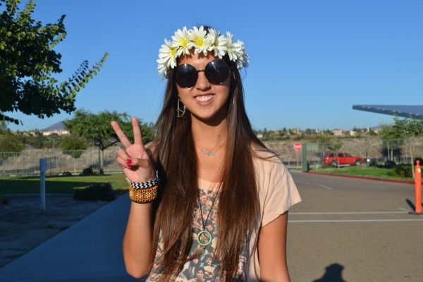 Teen Hippie Costume & Teen Flower Child Costume Sc 1 St The