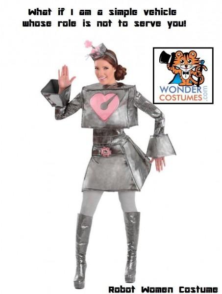 Robot  Costume For Women