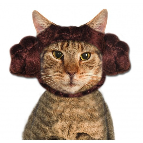 Pet Princess Leia Cat Buns