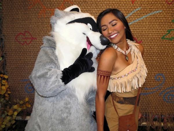 Meeko And Pocahontas
