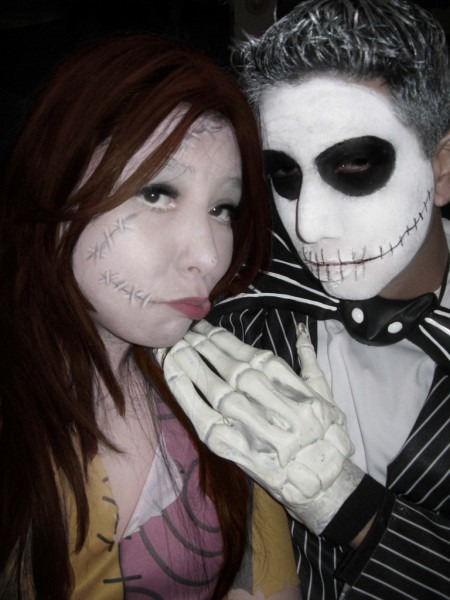 Jack And Sally Halloween Costumes And Makeup