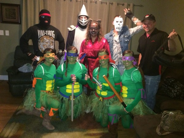 Teenage Mutant Ninja Turtles! Casey Jones! Foot Clan! Shredder