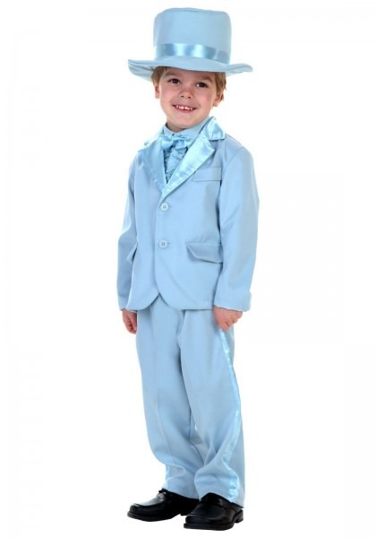 Toddler Blue Tuxedo Size 18 Month, 2t And 4t Dumb And Dumber  Dumb