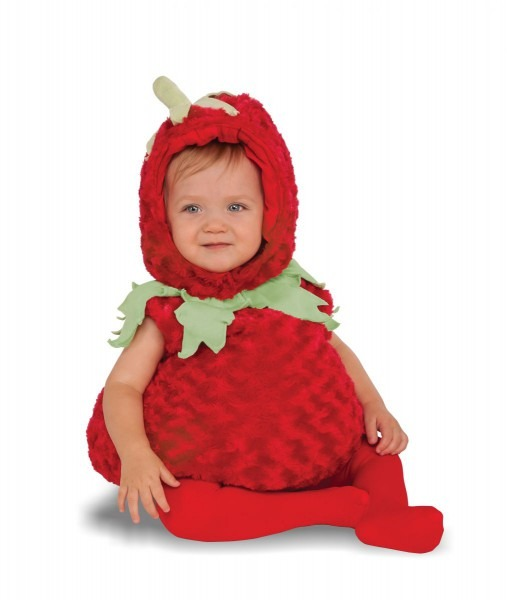 Strawberry Costume Size Toddler (2
