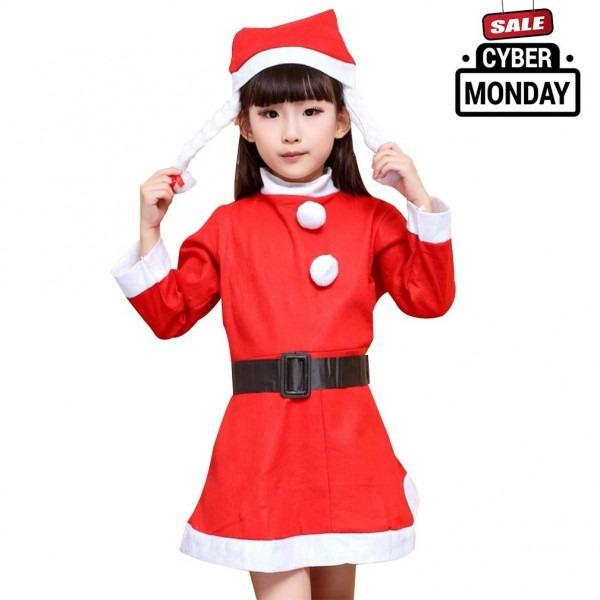 Amazon Com  Make You Perfect Christmas Costume Kids Clothes Santa