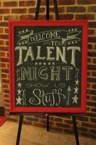 School Talent Show Decorating Ideas