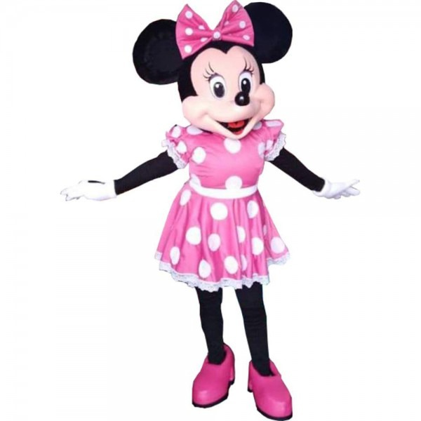 Amazon Com  Minnie Mouse Pink Dress Mascot Costume Party Character