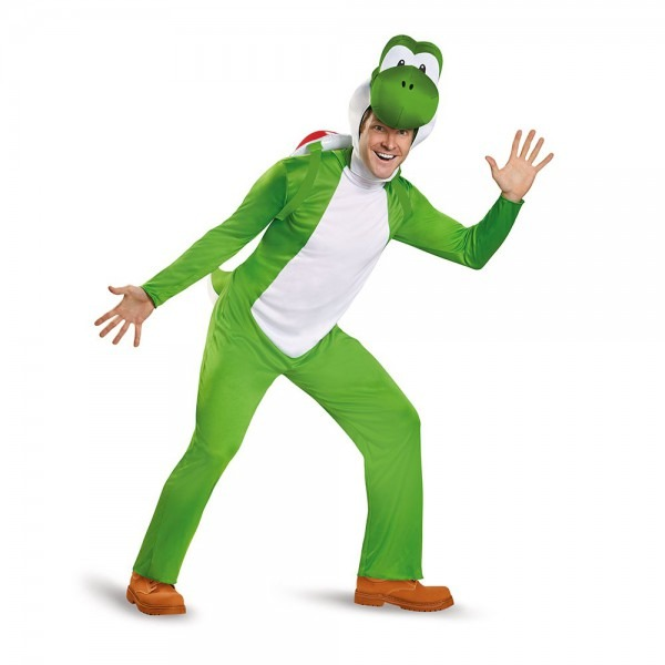 Amazon Com  Disguise Men's Yoshi Deluxe Adult Costume  Clothing
