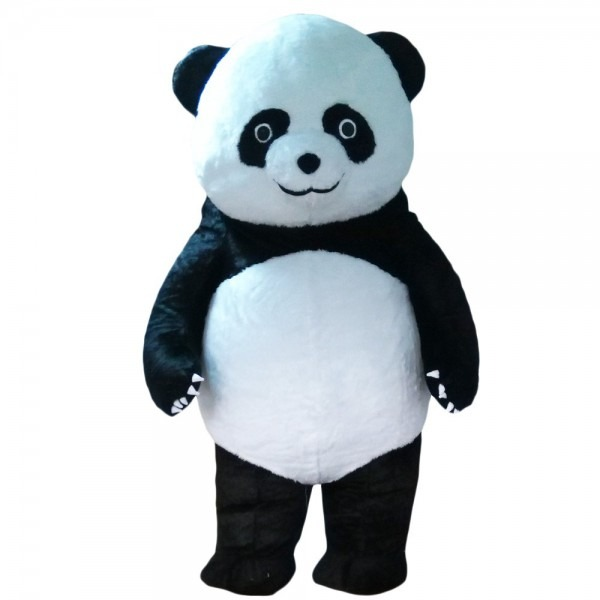 Amazon Com  Inflatable Panda Bear Mascot Costume Soft Plush