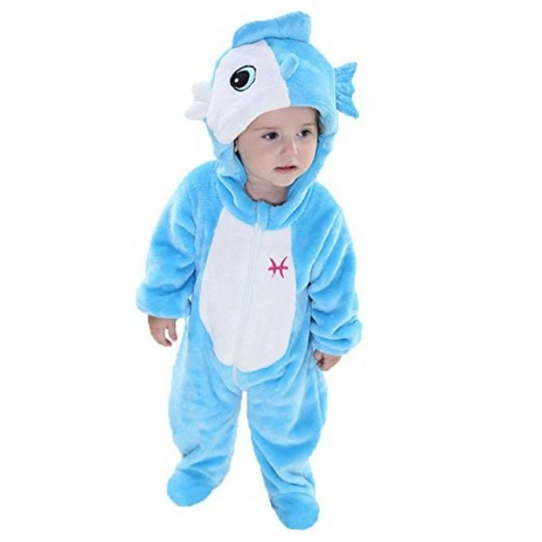 Amazon Com  King's Baby Zodiac Sign Costume Romper Flannel Hooded