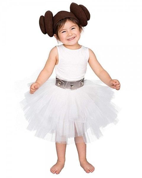 Amazon Com  Coskidz Child's Princess Leia Tutu Costume Halloween