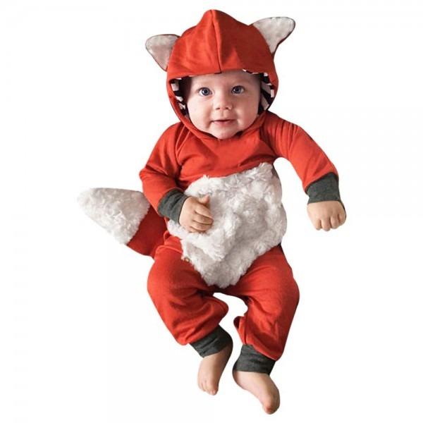 Amazon Com  Sunward New Baby Toddler Girls Boys Long Sleeve Fox