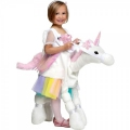 Girl Riding Unicorn Costume