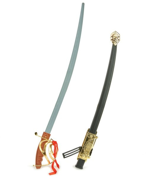 Toy Civil War Calvary Officer Pirate Musketeer Sword Costume Saber