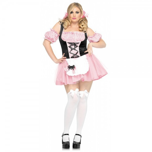 Gingham Miss Muffet Adult Costume