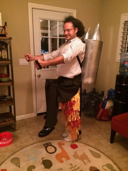 My Rocket Man Halloween Costume   Halloween