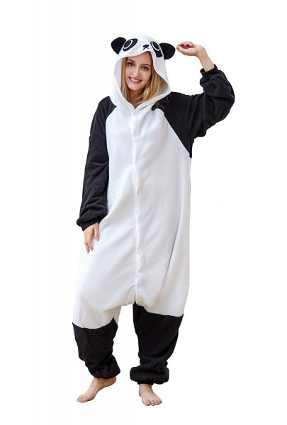 Amazon Com  Comfy New Halloween Panda Cosplay Costumes Women Men