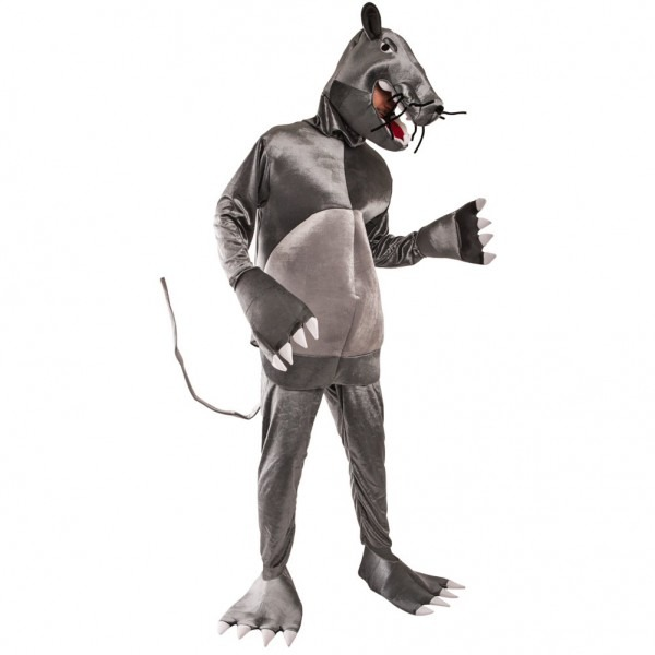 Amazon Com  Adult Rat Costume, Size Adult Standard  Clothing