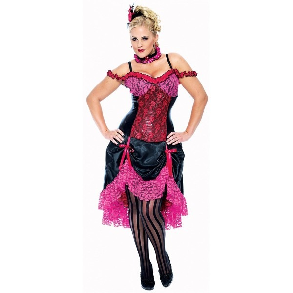 Amazon Com  Madame Can Can Costume