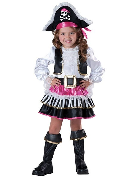 Amazon Com  Incharacter Baby Girl's Pirate Girl Costume  Clothing